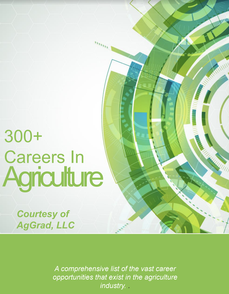 free resources for advancing your agriculture career aggrad