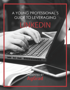 Young Professional's Guide to Leveraging LinkedIn